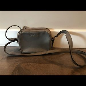 Kate Spade Gray Leather Bag